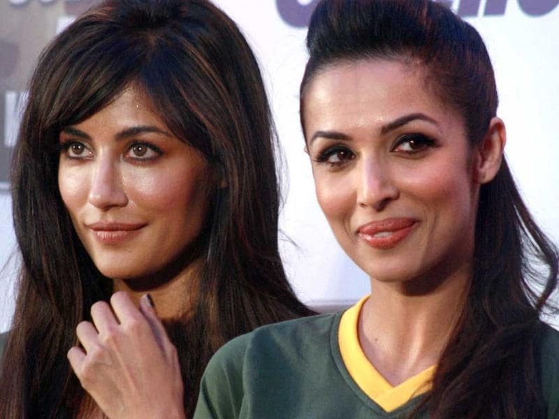 Chitrangada Singh and Malaika Arora at an event on International Women's Day in Mumbai on Friday. There were more queens out there. Take a look. (PTI Photo)