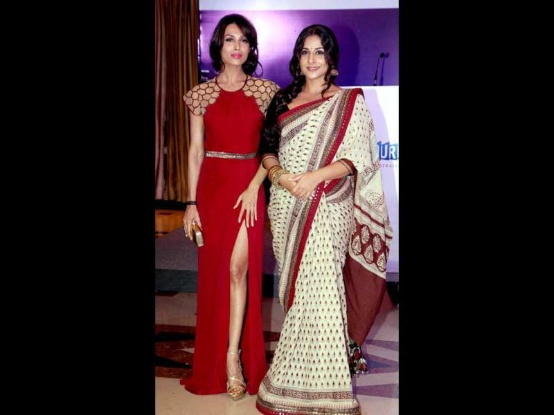Vidya Balan and Malaika Arora Khan were seen together recently at Melbourne Film Festival's press conference in Mumbai.