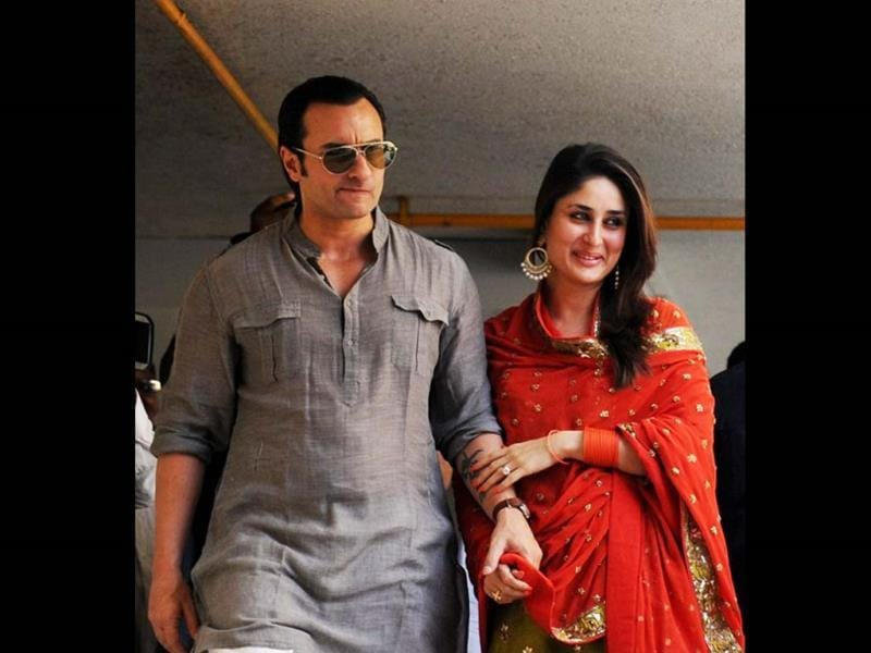 Saif Ali Khan was married to Amrita Singh for 13 years before he tied the knot with Kareena Kapoor. He has two children with Amrita - Sara and Ibrahim.