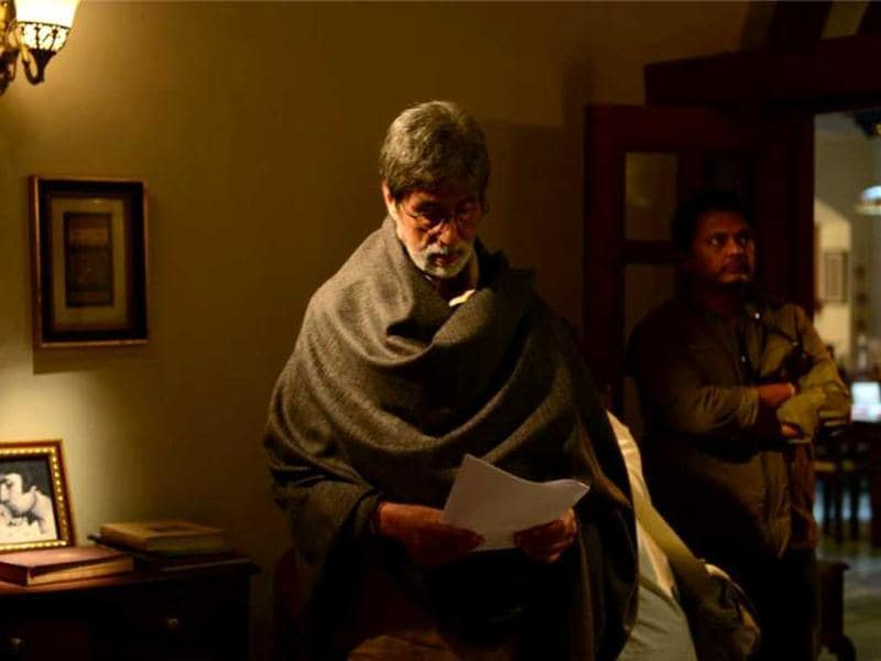 Amitabh Bachchan plays a revolutionary who believes in Gandhian values in Satyagraha – Democracy Under Fire. (Photo Courtesy: Facebook)