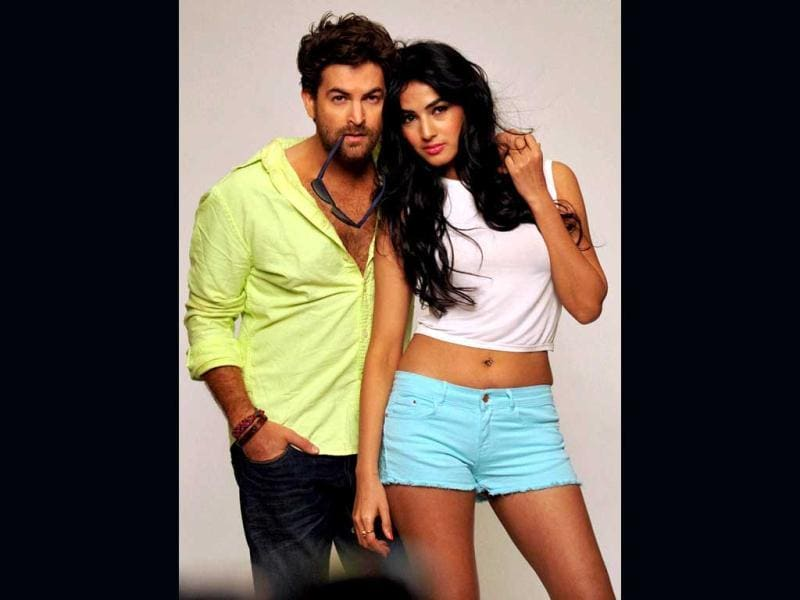 Neil Nitin Mukesh and Sonal Chauhan compliment eachother quite well! (PTI Photo)