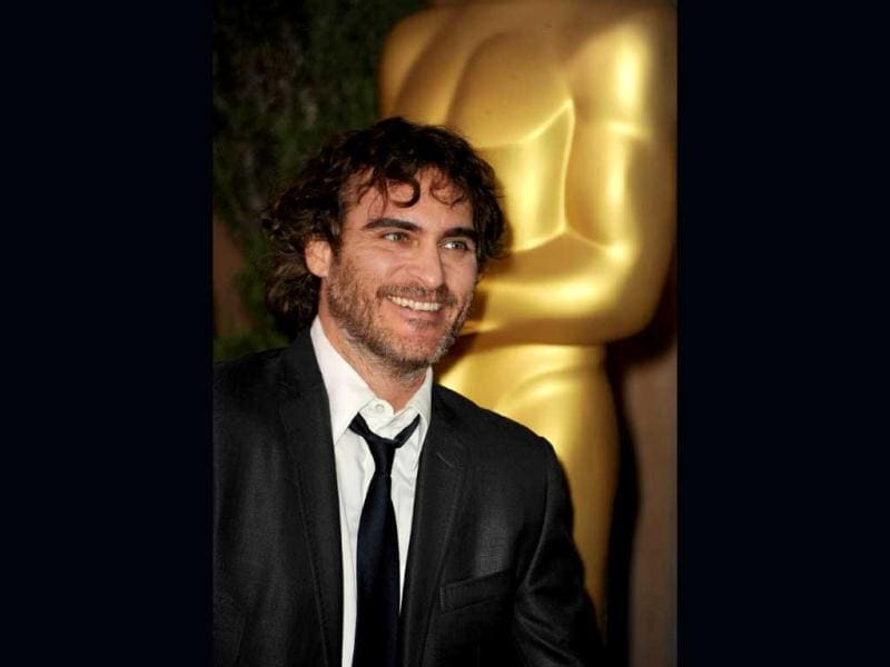 Joaquin Phoenix was nominated at the Academy awards for the best performance by an actor in a leading role for his role in the film The Master.