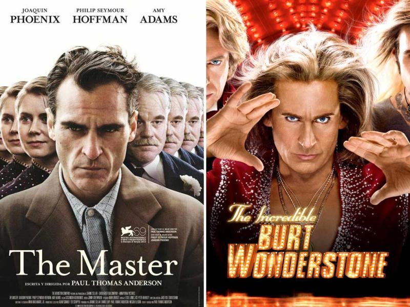 The masters are here to entertain you this weekend. Steve Carrell and Jim Carrey's magical film The Incredible Burt Wonderstone and Joaquin Phoenix's disturbing Oscar-nominated film The Master are the Hollywood Releases this Friday.