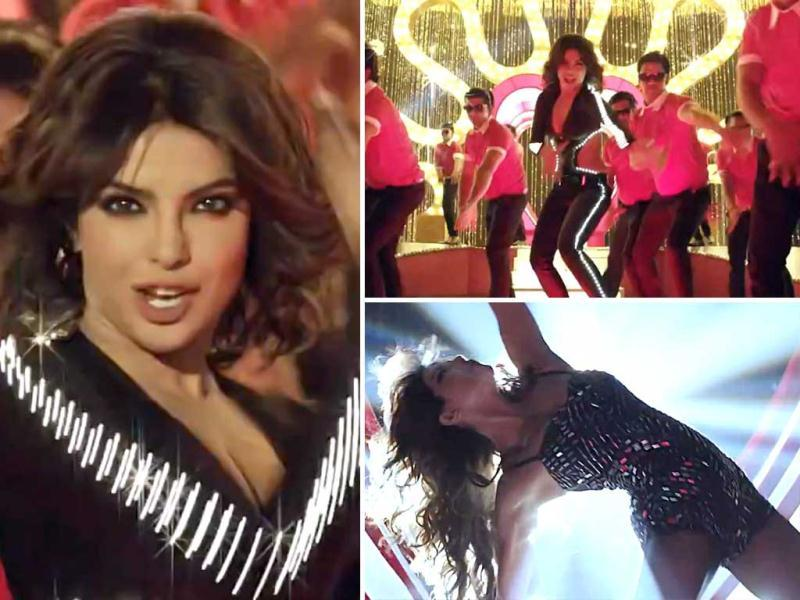 Priyanka Chopra sizzles in Babli Badmaash from upcoming gangster thriller Shootout At Wadala. Although, the song doesn't do much, Priyanka manages to look glamorous.