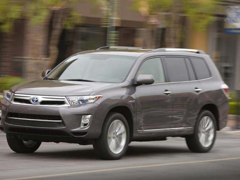 Toyota will unveil the new Highlander SUV.