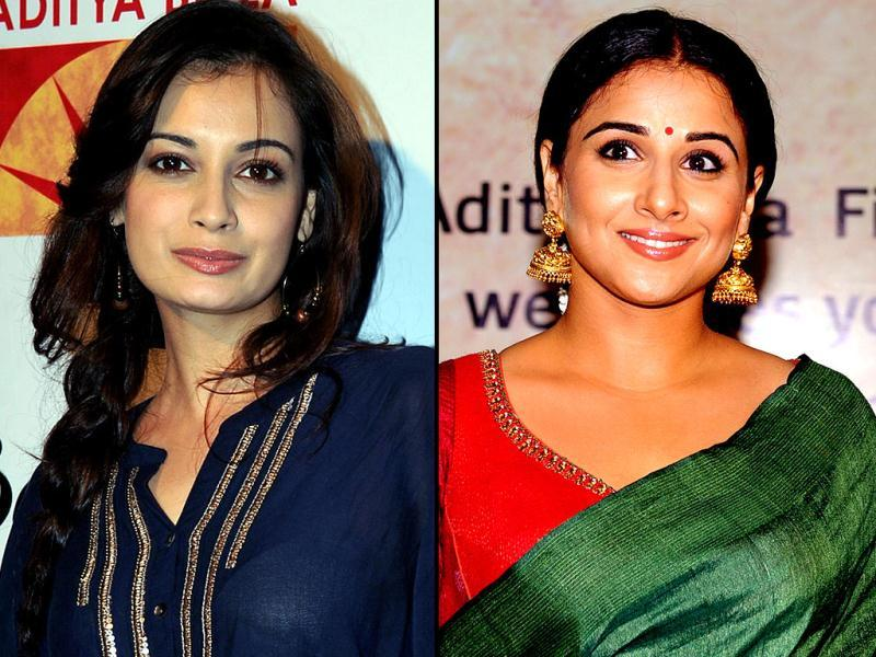 Vidya Balan looked at her traditional best in a green sari at Bawraas, a live performance event in Mumbai. Other Bollywood actors like Diya Mirza were also present at the event. Take a look.
