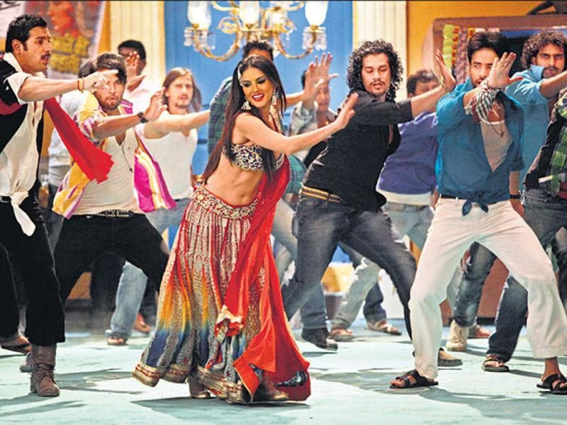 Sunny Leone will be seen in her first item song from the film Shootout At Wadala. It has been reported that her song is crucial to the film. Check out more stills.