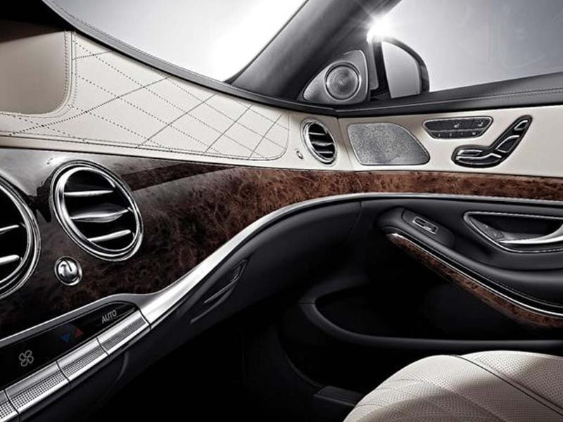 New Mercedes S-Class interior photo gallery