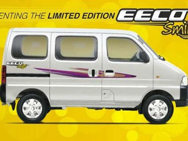 Limited edition Maruti Eeco launched