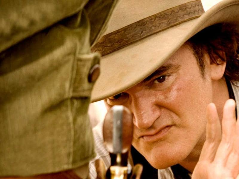 Django Unchained director Quentin Tarantino who won Oscar for Best Original Screenplay has also played a role in the film as an employee at The LeQuint Dickey Mining Co.