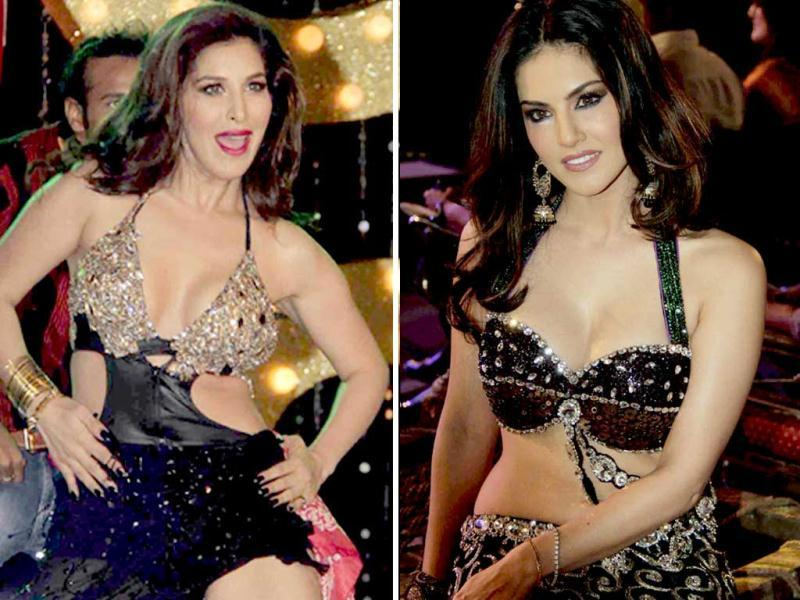 Sunny Leone rocked the audiences at the music launch for her upcoming film Shootout at Wadala. She was also accompanied by Sophie Choudhary, Manoj Bajpai, Tushar Kapoor and John Abraham. Here's a look
