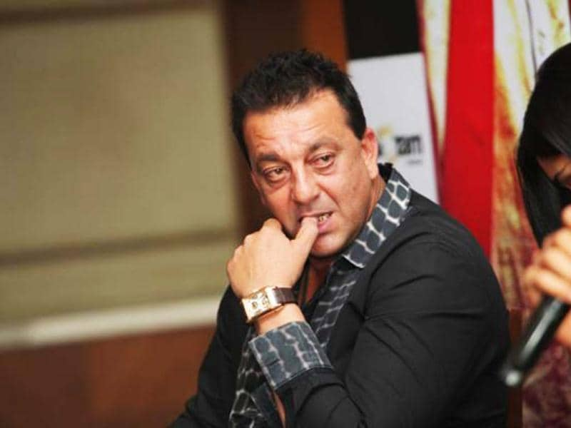 The Supreme Court sentenced Sanjay Dutt to five years' imprisonment on March 21 in connection with possession of illegal arms. He has been asked to surrender to the law within four weeks. (HT Photo