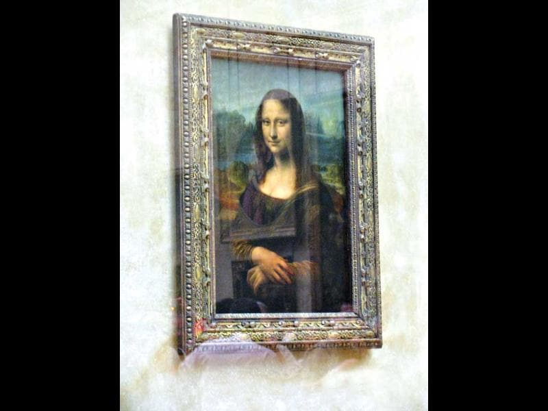 Nice to meet you, La Gioconda. The Louvre. Paris, 2008Uploaded by Mignonne Dsouza