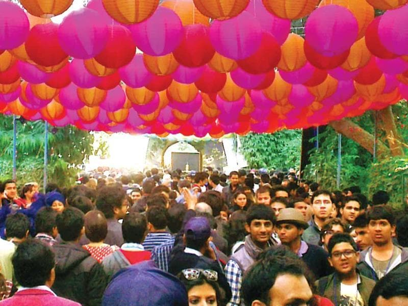 Every winter, the country likes to read. Jaipur Lit Fest, 2013Uploaded by Manit Moorjani