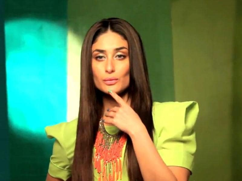 Some pout for thought? Kareena Kapoor poses for the beauty brand. (Photo Courtesy: Lakme India/Youtube)