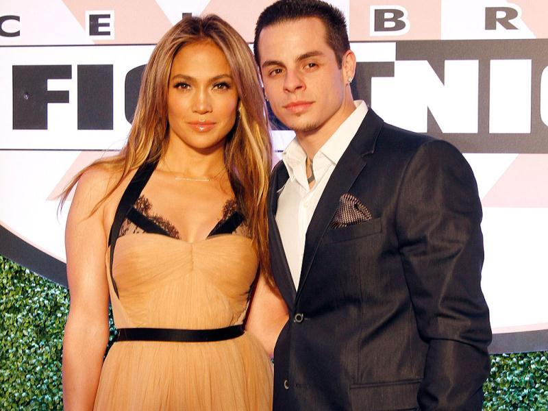 Singer Jennifer Lopez and boyfriend Casper Smart attend Muhammad Ali's Celebrity Fight Night XIX at JW Marriott Desert Ridge Resort ' + char(38) +' Spa in Phoenix, Arizona. AFP