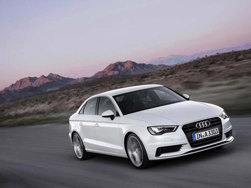 New Audi A3 saloon photo gallery