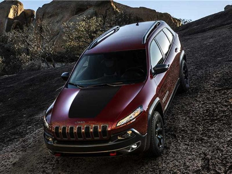 New Jeep Cherokee photo gallery