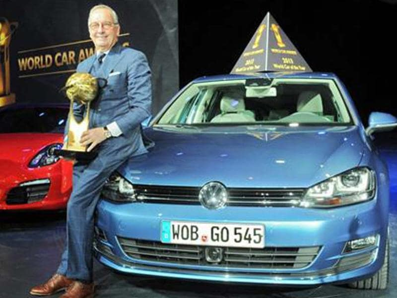 VW Golf crowned World Car of the Year 2013
