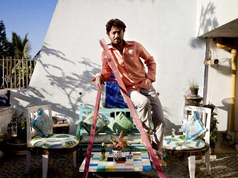 Irrfan's first film Salaam Bombay [1988] happened while he was still in his final year at NSD when Mira [Nair] came and cast him. (Photo Credit: Natasha Hemrajani)