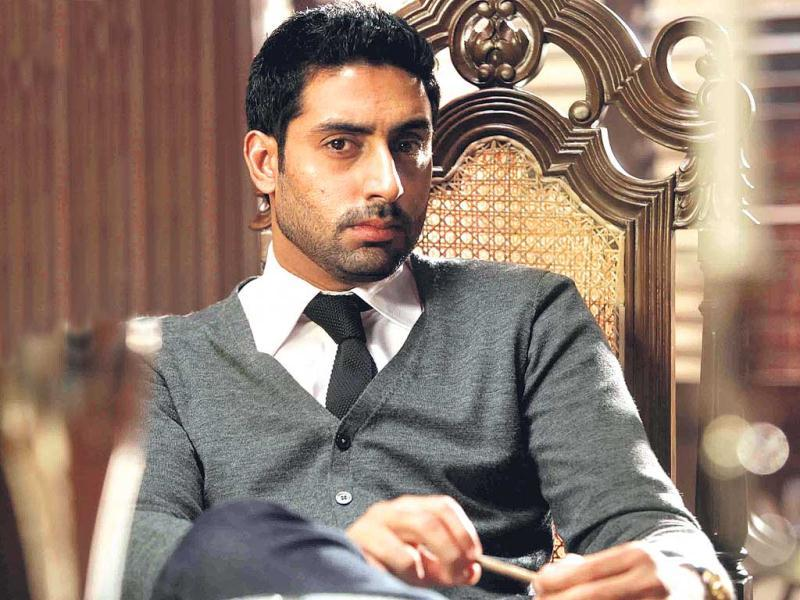 Abhishek Bachchan, who is looking forward to the release of his upcoming film, Dhoom 3, next month, is reportedly playing a double role in filmmaker Farah Khan's upcoming multi-starrer, Happy New Year.