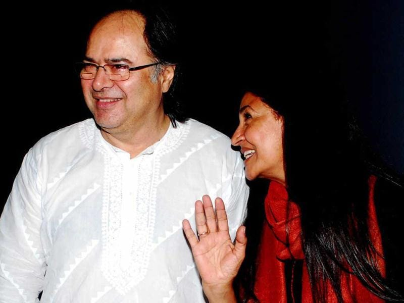Deepti Naval and Farooq Sheikh at the release of the digitally restored version of her film Chashme Baddoor. (UNI Photo)