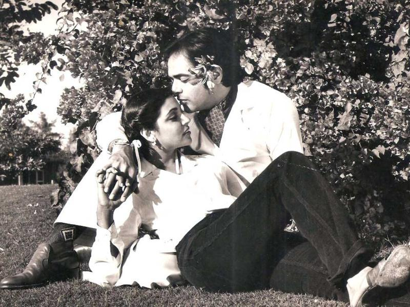 The movie had typical Bollywood romance with the lead pair singing songs in a garden.