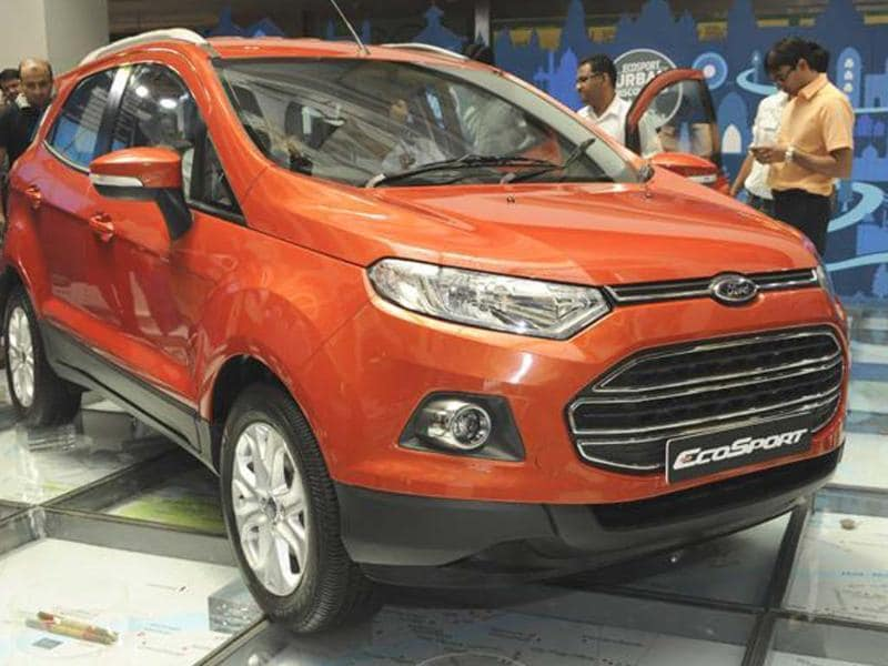 Ford EcoSport India-spec detailed photo gallery