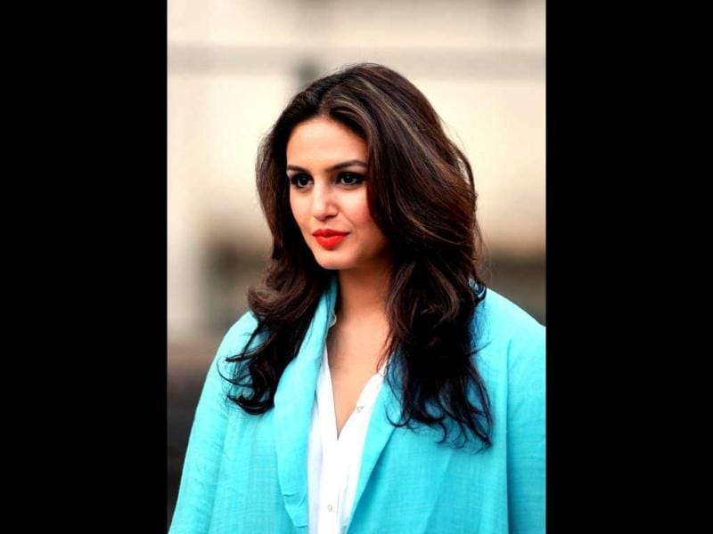 Huma Qureshi during a press conference for the promotion of upcoming Hindi film Ek Thi Daayan in Mumbai. (AFP Photo)