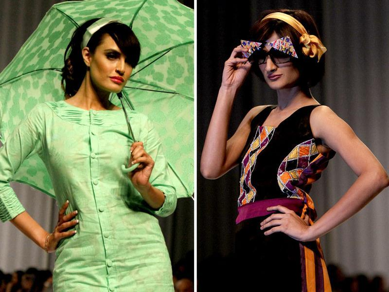 Pakistan is no less when it comes to fashion and glamour, the recent fashion show held in Karachi is witness. Check out the creations!