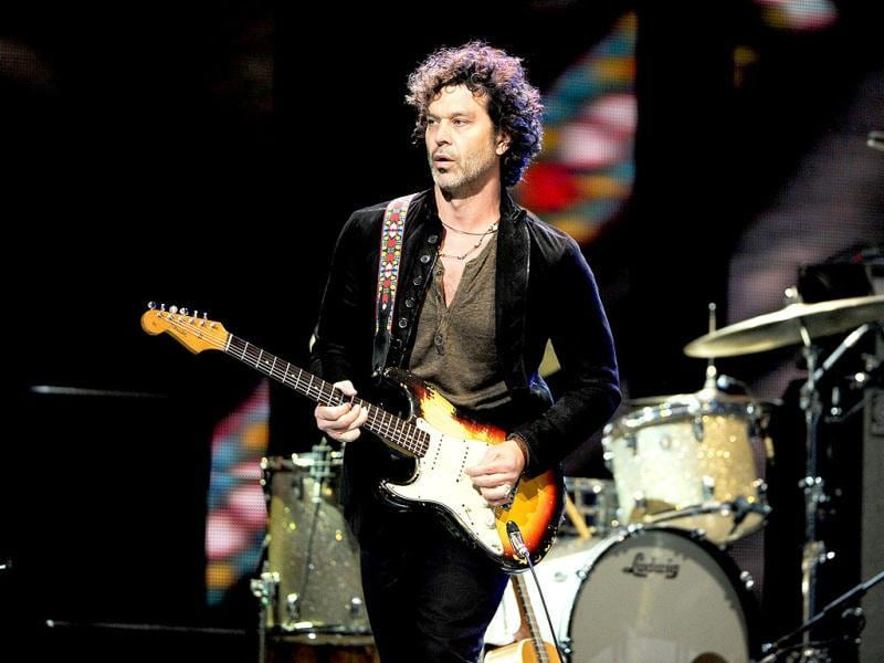 Musician Doyle Bramhall II performs at Eric Clapton's Crossroads Guitar Festival 2013 at Madison Square Garden in New York. AP Photo