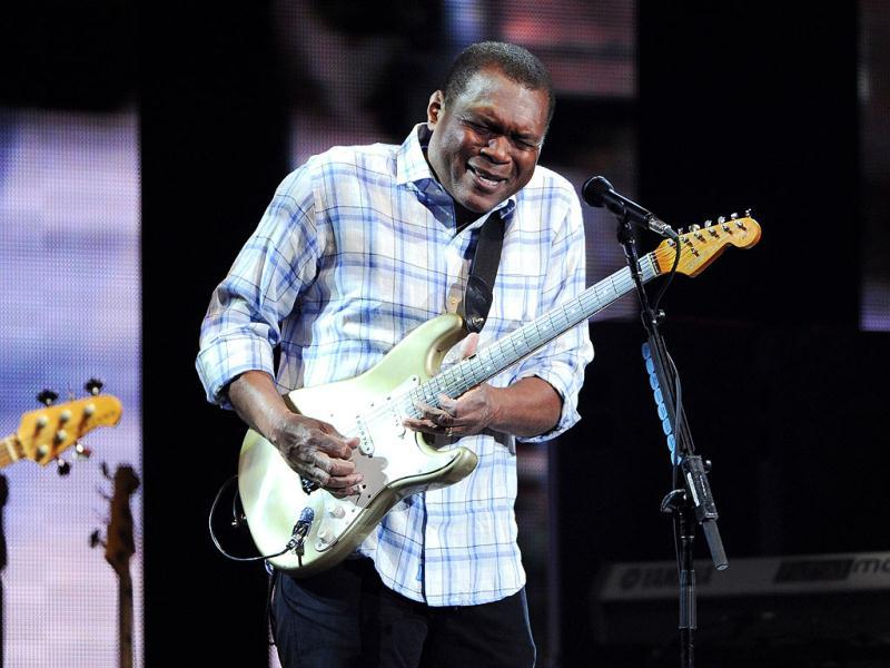 Guitarist Robert Cray performs at Eric Clapton's Crossroads Guitar Festival 2013 at Madison Square Garden in New York. AP Photo