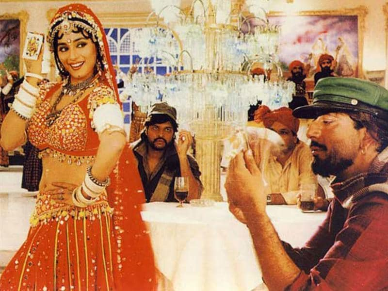 Madhuri Dixit and Sanjay Dutt created magic in Khalnayak. The two were said to be dating in the 90's.