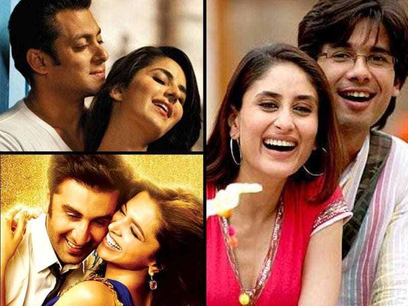 Ex-flames Ranbir Kapoor and Deepika Padukone's chemistry, in the latest flick Yeh Jawaani Hai Deewani, is the talk of the town. As the couple is back on-screen with no hard feelings, we bring you top ten other such names.