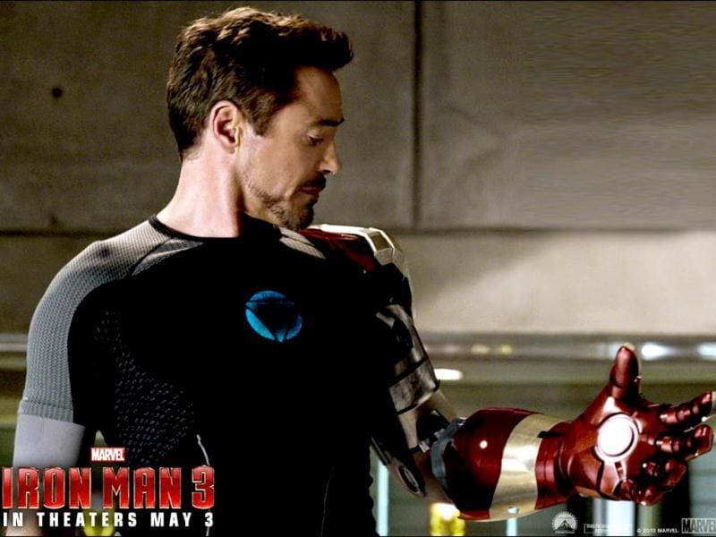 """Iron Man. That's kind of catchy. It's got a nice ring to it."" – Tony Stark"