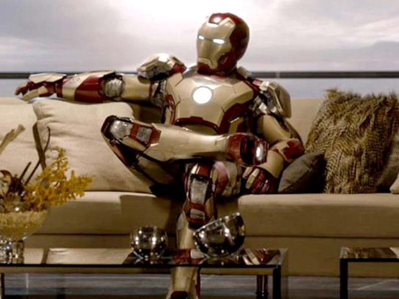 Iron Man will be looking his cool and shiny self in the third franchise too.