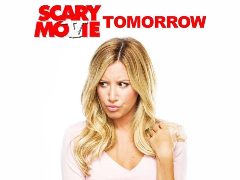 Ashley Tisdale stars as Jody Sanders who is being stalked by a 'nefarious demon' in this spooky spoof film Scary Movie 5.