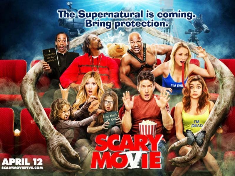 Scary Movie 5 is a satire based on the Paranormal Activity films and pop culture.