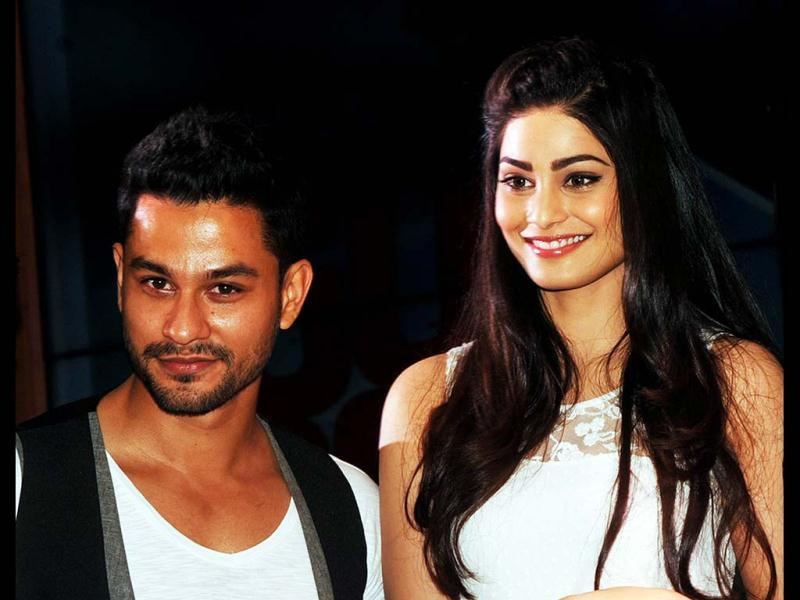 Pooja Gupta and Kunal Khemu during the music launch of Go Goa Gone. AFP Photo