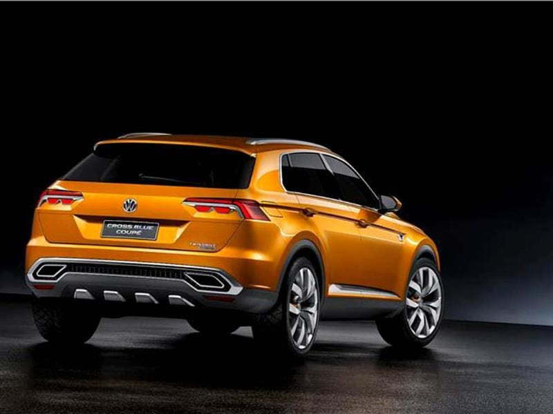 Volkswagen CrossBlue Coupé photo gallery