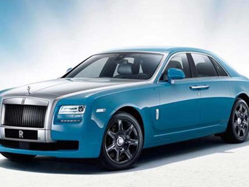 Rolls-Royce Ghost Alpine Trial Centenary revealed