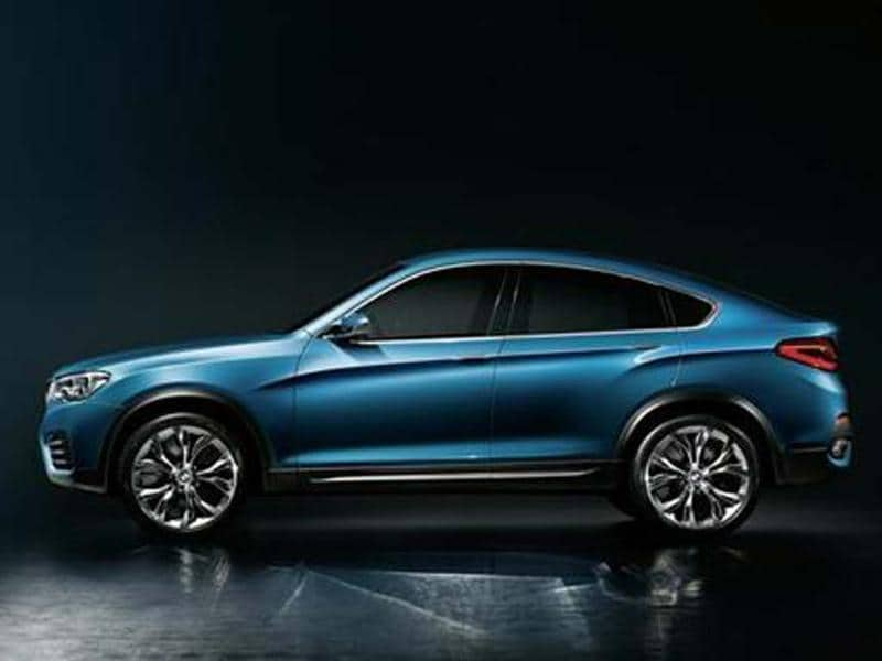 BMW to showcase X4 Concept at Shanghai