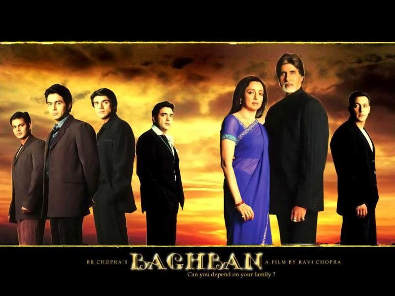 BR Chopra produced Baghban in 2003 that saw Amitabh Bachchan and Hema Malini back on screen opposite each other.
