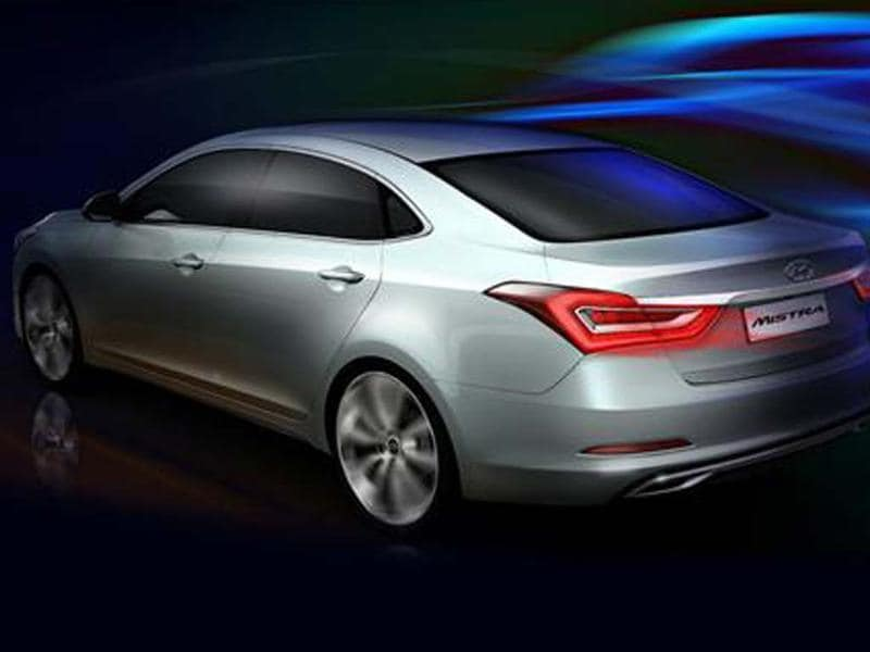 Hyundai has revealed a new saloon concept which is expected to boost the Korean brand's presence in China's mid-sized segment
