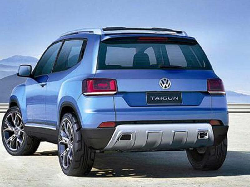 VW's Taigun SUV likely to be launched in 2016. It will come with new-generation diesel engines and a 1.0-litre, three cylinder turbo-petrol.