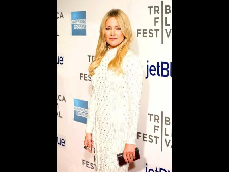 Actress Kate Hudson attends the Reluctant Fundamentalist US Premiere during the 2013 Tribeca Film Festival in New York City. (AFP Photo)