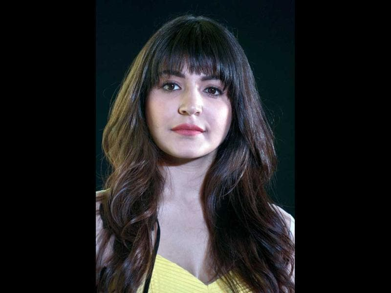 Anushka Sharma has donned fringes for her role in PK. Doesn't she look pretty? (AFP Photo)