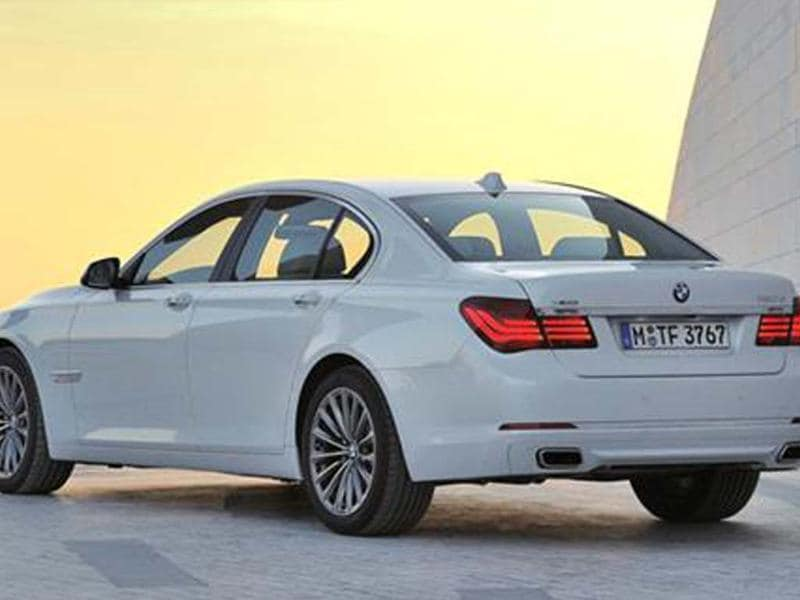 BMW 7-series facelift comes with updated equipment.