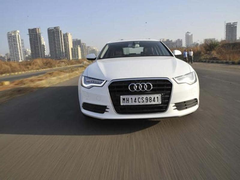 First official pictures of the Audi A6