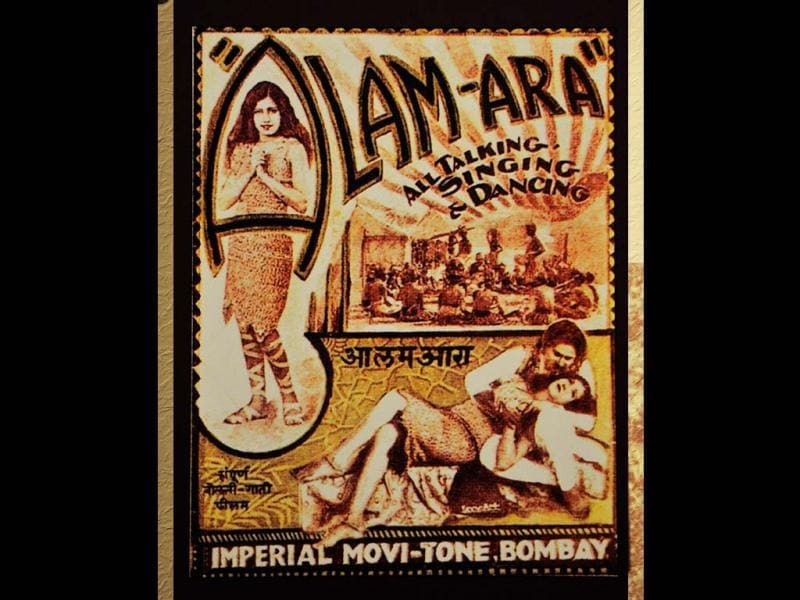Alam Ara is a 1931 film directed by Ardeshir Irani. It was the first Indian talkie. It was so popular that police aid had to be summoned to control the crowds. HT photo